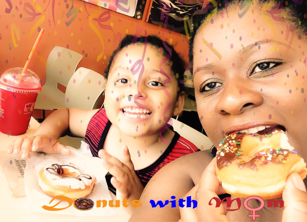 Donut with mom party
